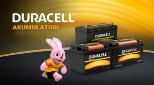 Distributer DURACELL akumulatora