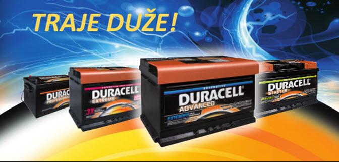 Duracell akumulatori